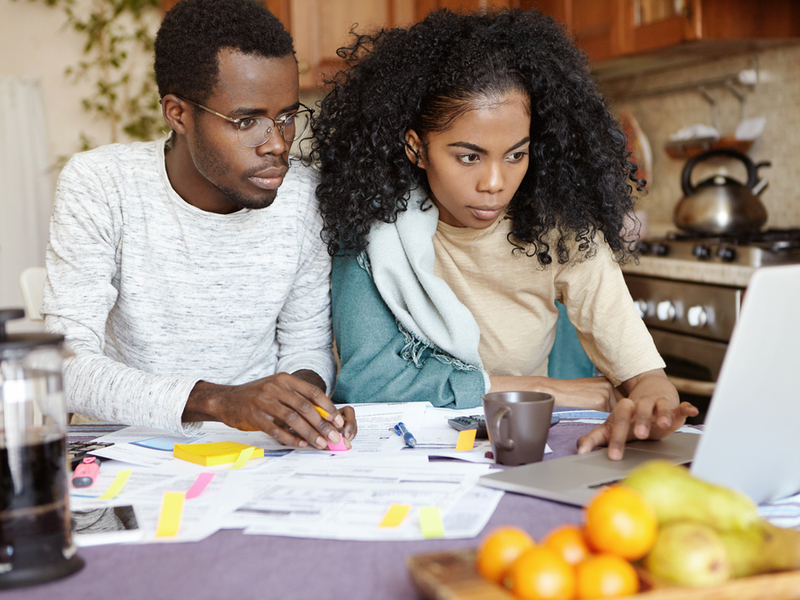 review your finances