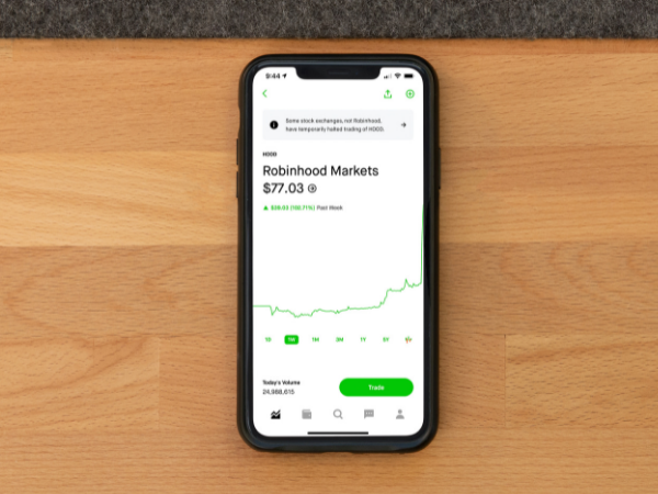 This is the Robinhood app.